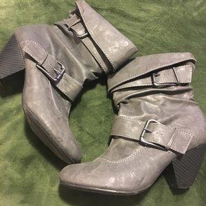 Heeled Booties Size 10